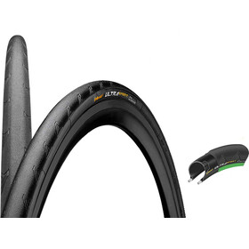 "Continental Ultra Sport II Performance Bike Tyre 28"" folding green/black"